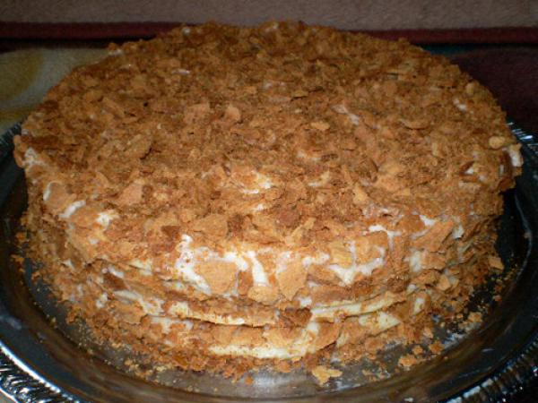 Рецепт торта наполеон торт наполеон