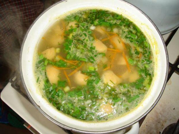 Грибной суп — рецепт кулинарные