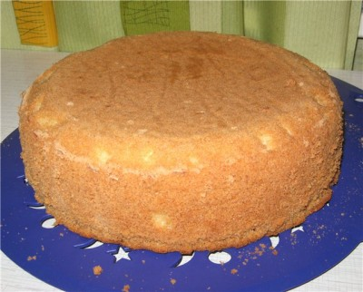 Бисквитный торт всегда был и будет