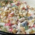 салат крабовые палочки - Рецепт