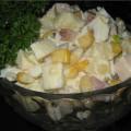салат с ананасами - Рецепт