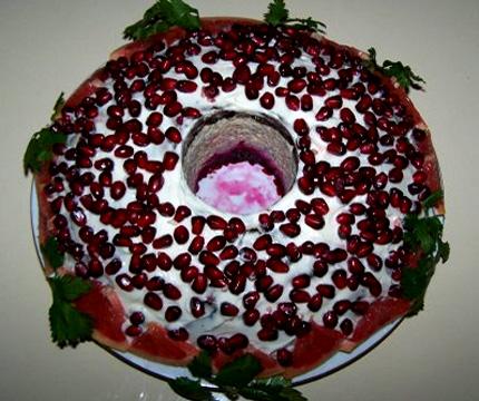 Салат браслет рецепт