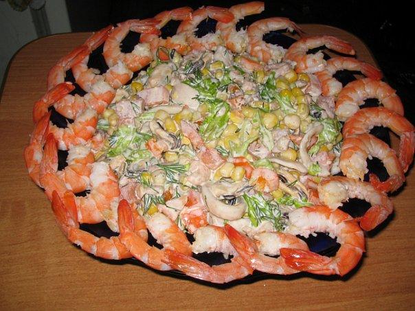 Если Вам нравится салат с морским коктейлем рецепт с фото - Вы попали по адресу.  В нашем меню рецептов...