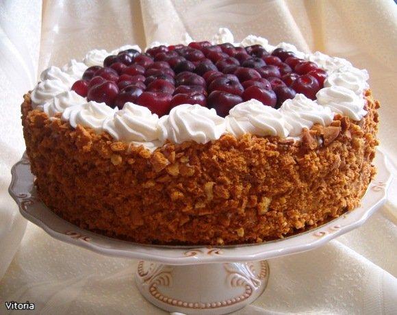 Приготовить бисквитный торт — рецепт