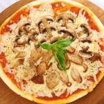 Как приготовить пиццу с грибами — Рецепт