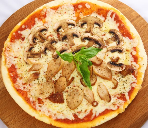 Как приготовить пиццу с грибами