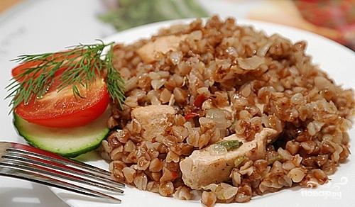 Как приготовить гречку с мясом
