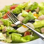Рыбный салат — Рецепт