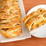 Персиковый штрудель — Рецепт