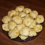 Ананасовые печенья с орехами — Рецепт