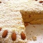 Торт «Рафаэлло» — Рецепт