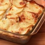 Картофельная запеканка с сыром — Рецепт