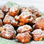 Яблочные пончики с корицей — Рецепт