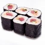 Острые роллы с тунцом — Рецепт