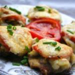 Мясо по-французски с грибами — Рецепт