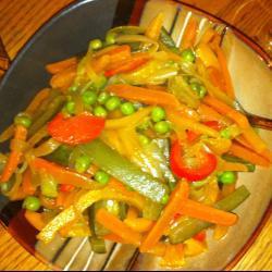 Салат из тушёных овощей