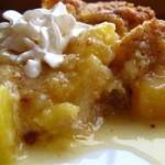 Клафути с консервированным ананасом — Рецепт