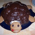 "Торт ""Черепаха"" со сгущёнкой"