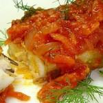 Рыба по-гречески — Рецепт