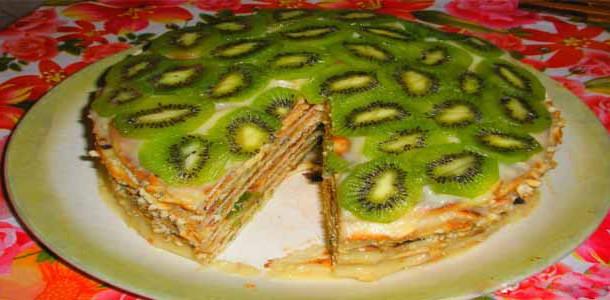 Торт черепаха с киви это торт