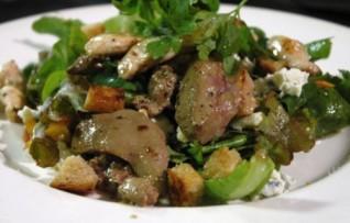 Салат из куриной печени — Рецепт