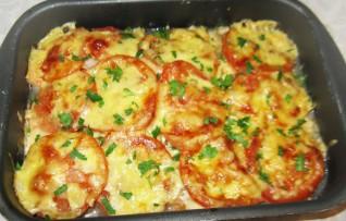 Рыба с сыром в духовке — Рецепт