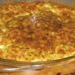 Пирог — запеканка с кабачками — Рецепт