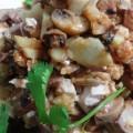 Салат из языка с грибами и курицей
