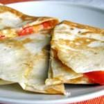 Кесадилья с овощами и сыром — Рецепт