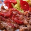 Говядина с томатами
