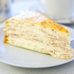 Блинный торт с кремом из Маскарпоне — Рецепт