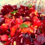 Свекольный салат с апельсином — Рецепт