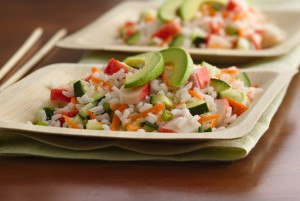 Калифорнийский суши-салат