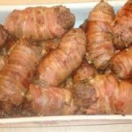 Рулетики из говядины с беконом — Рецепт