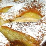 Пирог с яблоками — Рецепт