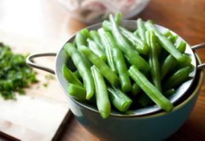 Салат из стручковой фасоли с фетой