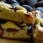 Быстрый пирог со сливами — Рецепт