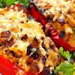 Перец фаршированный — Рецепт