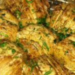 Веер из картофеля — Рецепт