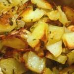 Жареная картошка — Рецепт