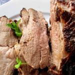 Рулет из баранины с сыром и мятой — Рецепт