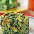 Адыгейский сыр со шпинатом