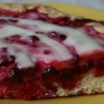 Пирог с брусникой — Рецепт