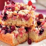 Пирог с клюквой — Рецепт