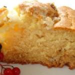 Сметанный пирог — Рецепт