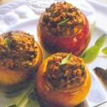 Яблоки, фаршированные свининой — Рецепт