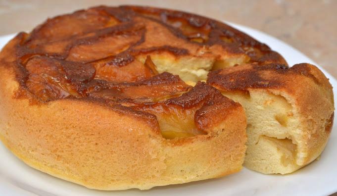 Шарлотка с яблоками рецепт классический в мультиварке