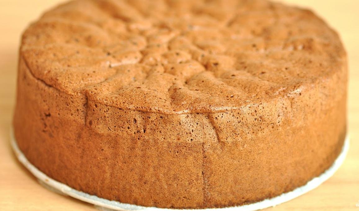 бисквит с разрыхлителем рецепт с фото