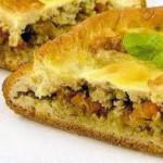 Пирог с грибами — Рецепт