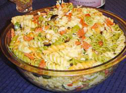 Итальянский салат «Конфетти»